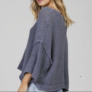 FREE PEOPLE halo pullover sweater doleman knit